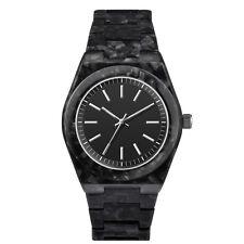 Italian Quartz Women's Analogue, Acetate Case, Water Resistant Steel Wristwatch