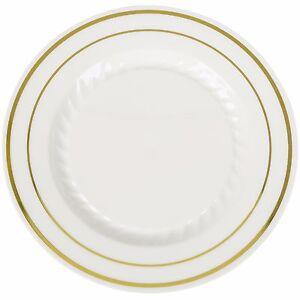 Image is loading 10-034-Premium-Heavy-Duty-Plastic-Dinner-Plates-  sc 1 st  eBay & 10