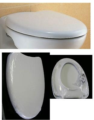 Sedile Wc Dolomite Novella.Sedile Asse X Wc Copriwater Novella Ceramica Dolomite In Termoindurente Ebay