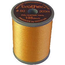 300m spool WARM GREY 399 Brother satin finish embroidery thread