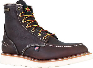 c86510e9651 Details about Thorogood Boots Made In USA Waterproof 6