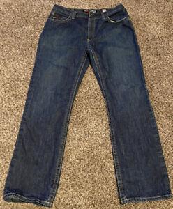 Ariat Fr Para Hombre Jeans Talla 38 X 34 M4 Resistente Al Fuego Jean Pantalon Vaquero Botas De Baja Altura Ebay