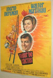 Filmplakat,Plakat,FLEUR DE CACTUS,INGRID BERGMAN,WALTER MATTHAU #89