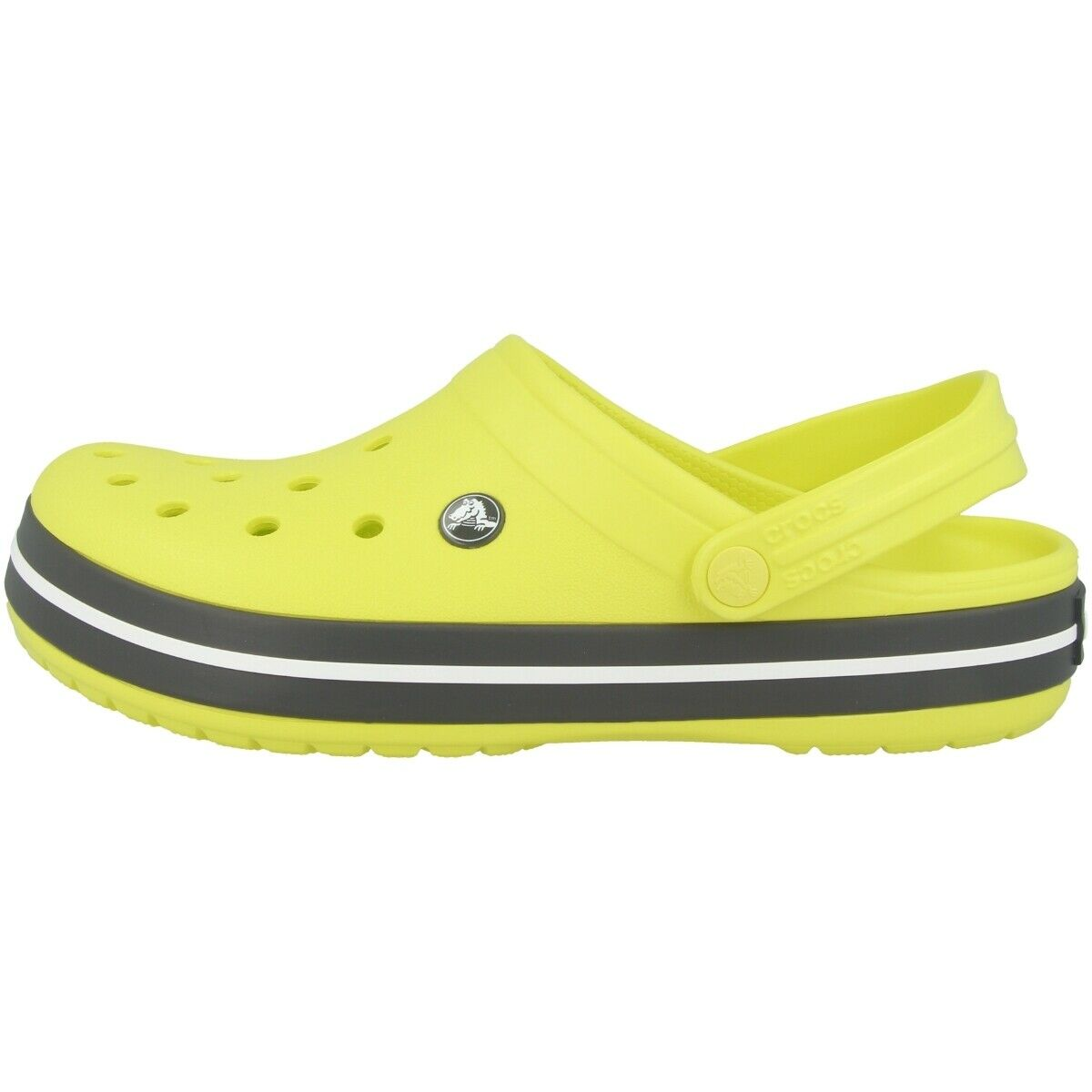 Crocs Crocband Clog Sandals shoes Beach shoes Clogs Citrus Grey 11016-725