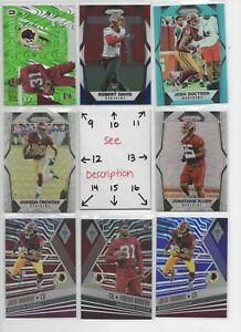 Washington-Redskins-Serial-039-d-Rookies-Jersey-Auto-EVERY-CARD-IS-A-GOOD-CARD