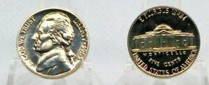1963 Proof Jefferson Nickel Full Steps Nice Coins Priced Right Shipped FREE