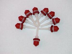 10x-JURA-Ventilstift-Formdichtung-O-Ring-Auslauf-Ventil-Reparatur