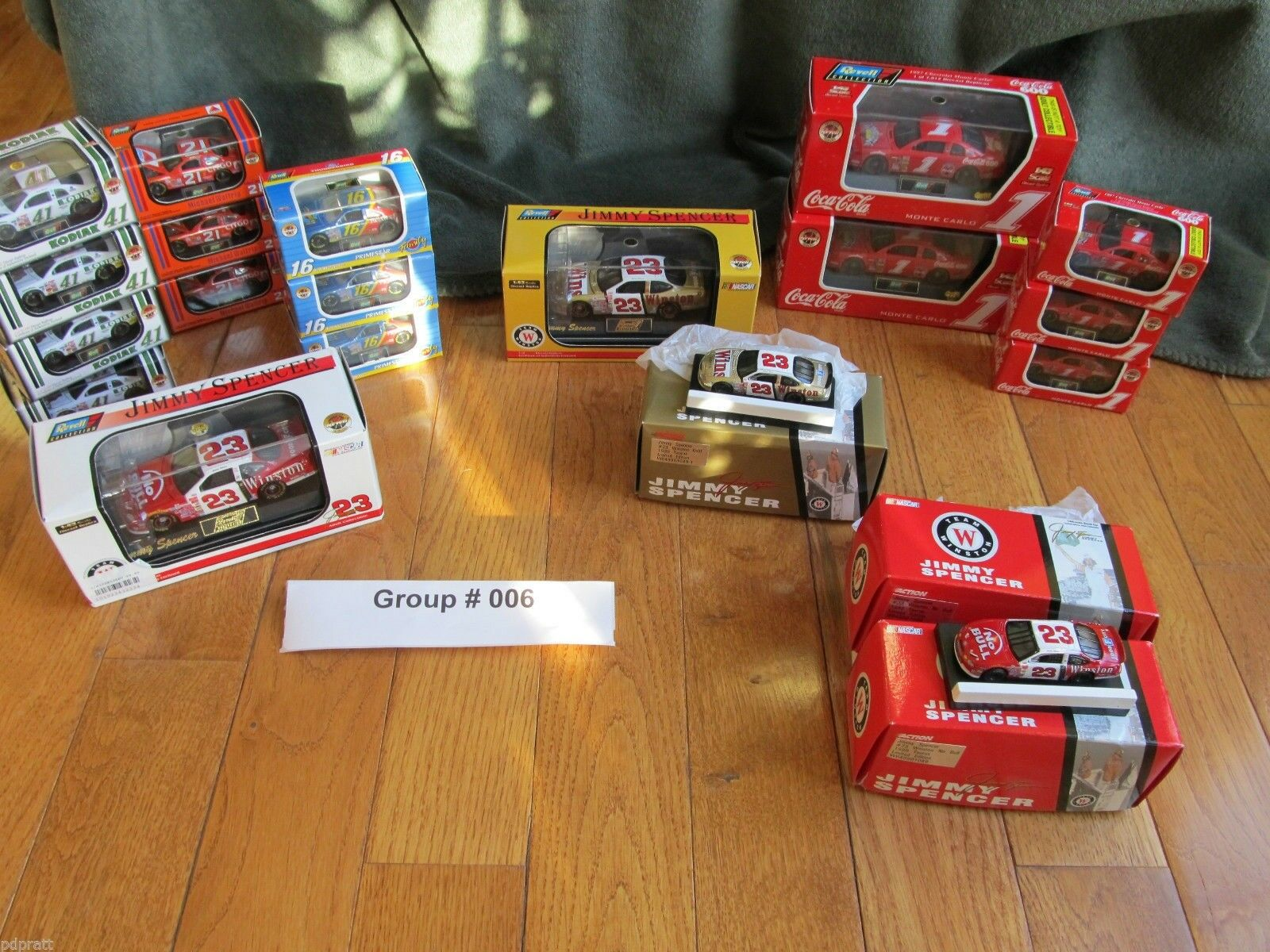 Collection Of Rare Diecast Winston   NASCAR Cup Racing-20 Items All Mint Lot