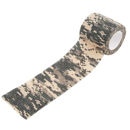 Practical Tape Stretch Camouflage Tape Camo Bandage Wrap Stealth Supplies BL3