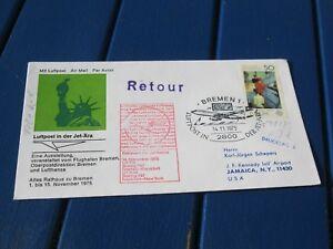Bund, Lupo-Brief Bremen nach Jamauica, 14.11.1975, Foto anschauen - Berlin, Deutschland - Bund, Lupo-Brief Bremen nach Jamauica, 14.11.1975, Foto anschauen - Berlin, Deutschland