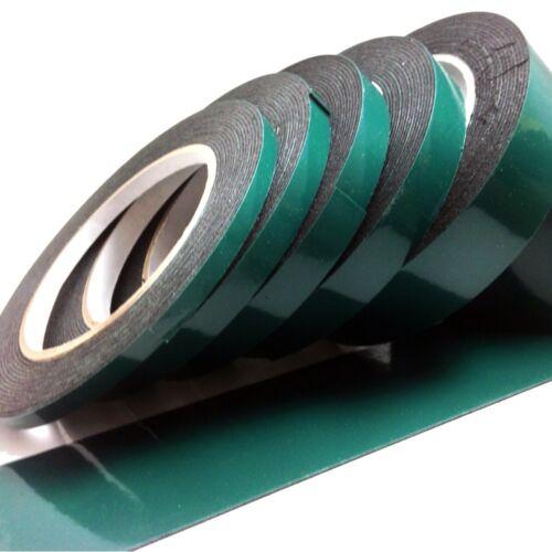 Black Double Sided Foam Automotive Permanent Car Body Trim Self Adhesive Tape