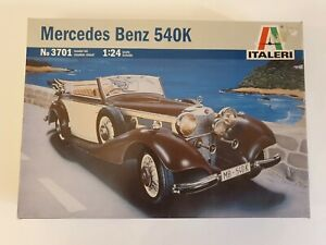 ITALERI MERCEDES BENZ 540K - 3701-   1/24 MODEL KIT
