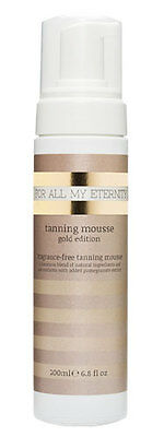 For All My Eternity Tanning Mousse Gold Edition, Self Tan, Fake Tanner 'mouse'