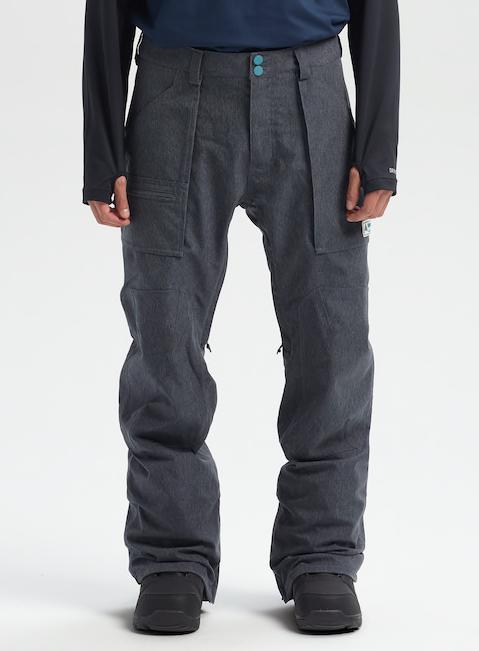 Brand New Mens 2020 Burton Southside Snowboard Pant Regular Fit Denim