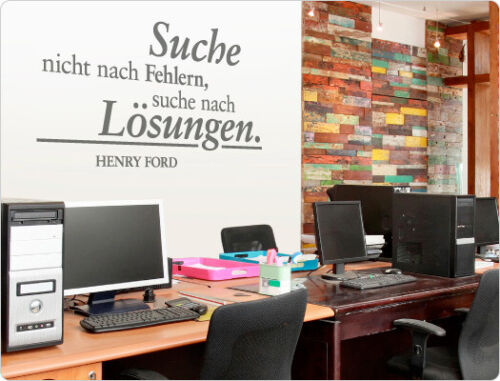 """Wall Tattoo Quote /""""search not after errors/"""" Work Room Office Slogan"""