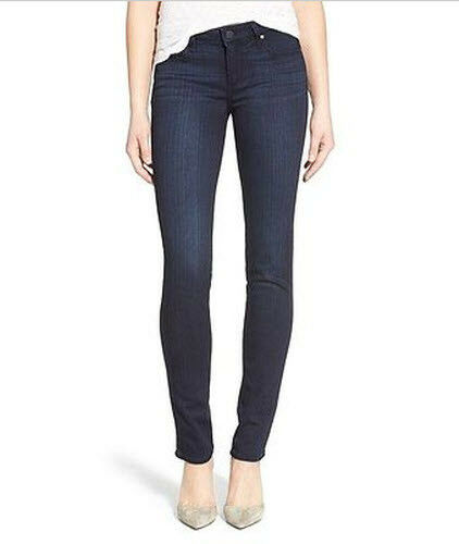 NWT Paige Skyline Skinny Mid Rise Ankle Peg Transcend Egreenen Jeans Size 28