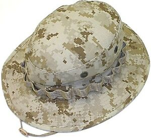 Image is loading USMC-Marine-Desert-Digital-Camouflage-Boonie-Hat-NO- 6370b819528f