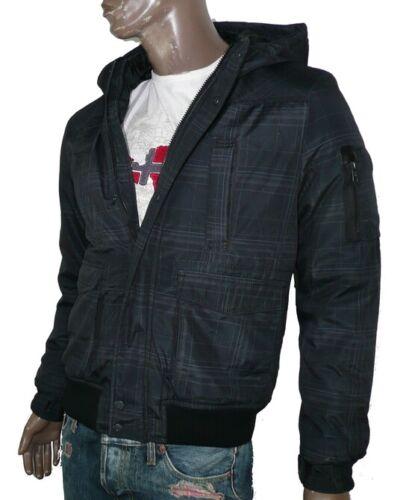 Jack /& Jones Hommes Veste D/'Hiver New Boot Bomber Veste Jacket JKT Check