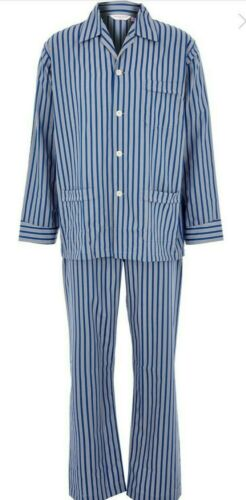 M Derek Rose Men/'s Cotton /& Polyester Pyjamas Striped S L XXL Classic Fit