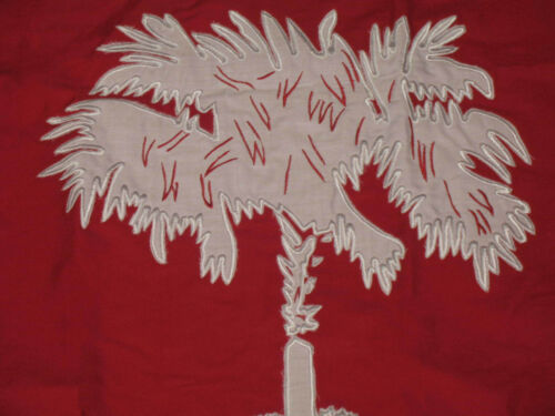 Garden Ornaments Flags 3x5 Embroidered South Carolina SC
