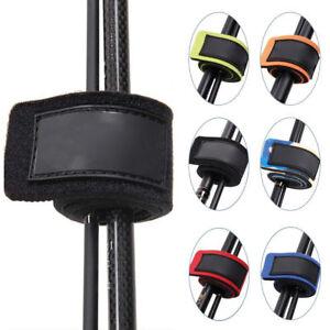 Lot 4pcs Fishing Rod Tie Belts Strap Elastic Wrap Band Pole Holder Tackle