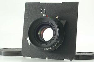 Top-Comme-neuf-Schneider-Apo-Symmar-120-mm-f5-6-objectif-MC-Copal-No-0-Obturateur-du-Japon