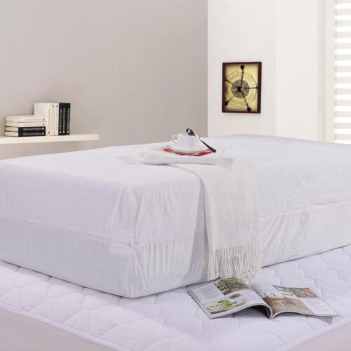 ViscoLogic Waterproof Lab Tested Bed Bug Proof Zippered Mattress Encasement