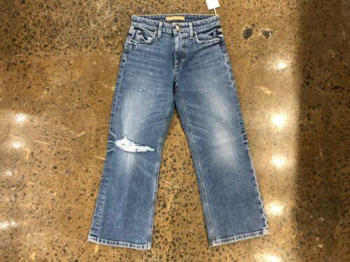 Jeans Wyatt Nwt Crop Størrelse Gillian High Flare Jeans 26 Women's Rise Blue Retro Aqf6HEZw