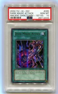 Yu-Gi-Oh-1st-Edition-Dark-Magician-Attack-AST-095-Ultra-Ancient-Sanctuary-PSA-10