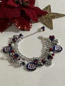 New York Giants Charm Bracelet