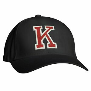 99ad571a927 Image is loading Letter-K-Baseball-cap-Birthday-Gift-Alphabet-Hiphop-