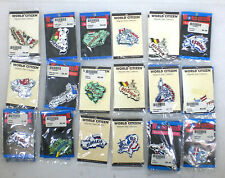 Lot of 69 Foreign Countries Refrigerator Magnets World Citizen Brand NEW