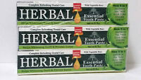 Herbal Essential's Blessing Tooth Paste (new 5 In 1) 6.5 Oz Free Shipping