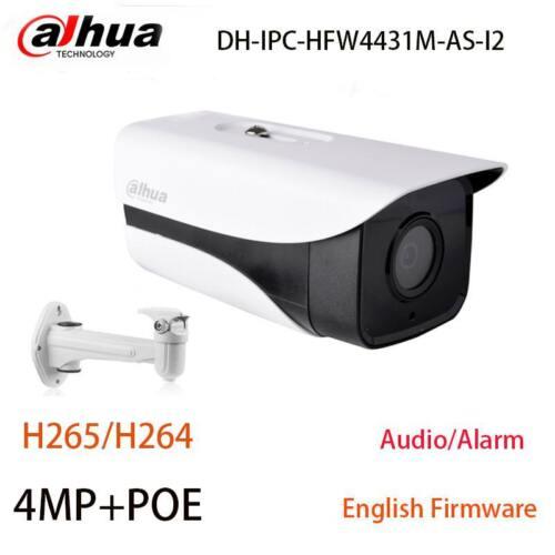 Dahua Startlight Camera H.265 4Mp IPC-HFW4431M-AS-I2  Micro SD IP67 IR 80M