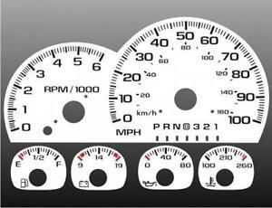 1997-1999-Chevrolet-Truck-Dash-Cluster-White-Face-Gauges-95-98