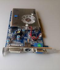 NEW nVIDIA FX5500 256MB 128bit PCI DDR VGA//DVI //S-Video Video Card FX 5500 3D