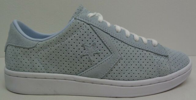 394b3a48b651 Converse All Star Size 7 PL LP OX 555923C Grey Suede Sneakers New Womens  Shoes