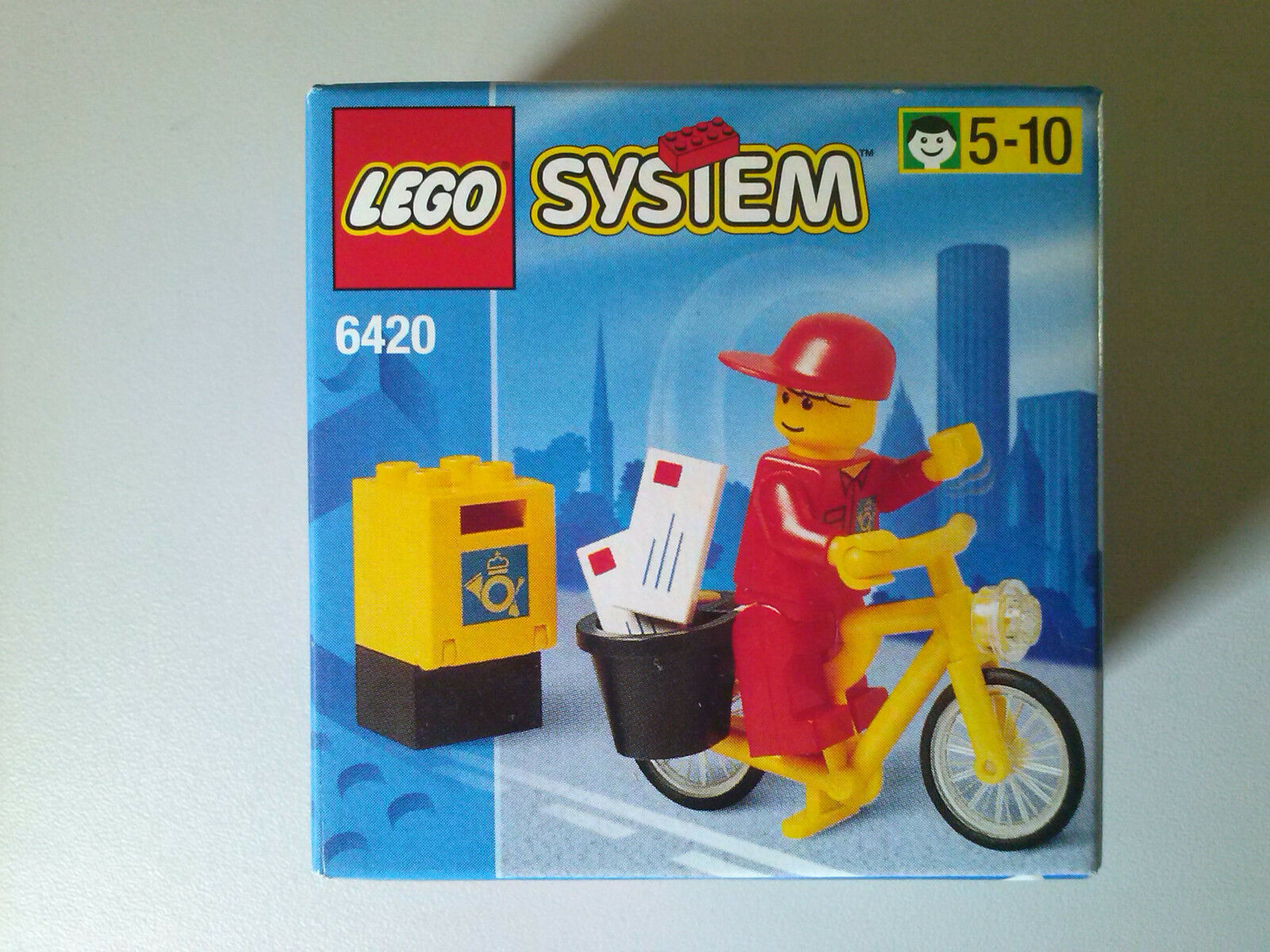 (Very) good LEGO 6420 Mail Carrier - Town Town Town 2c50f8