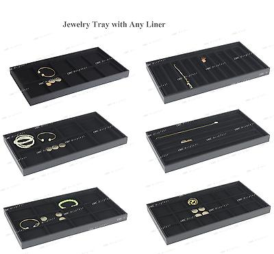 """Juwelier- & Uhrmacherbedarf Modestil Hölzerne Tablett Schmuck Schaukasten Anzeige Schublade Schwarz Liner 1 """" Hohe Wir Nehmen Kunden Als Unsere GöTter Uhren & Schmuck"""