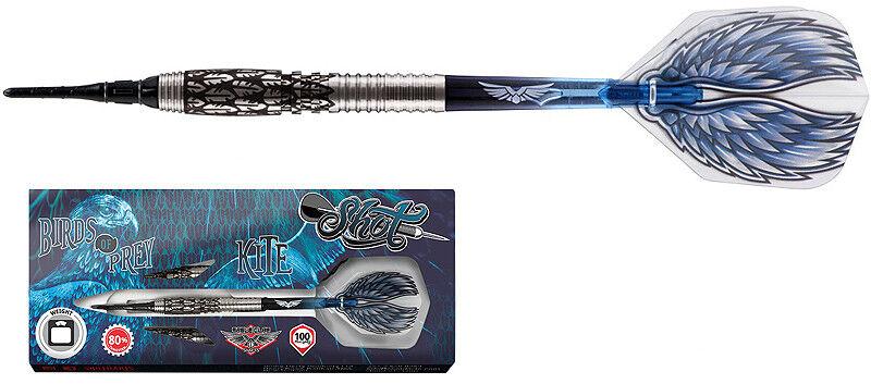 Darts Darts Darts SHOT Birds of Prey Kite 80% Tungsten Softdarts - Dart Set 87120d