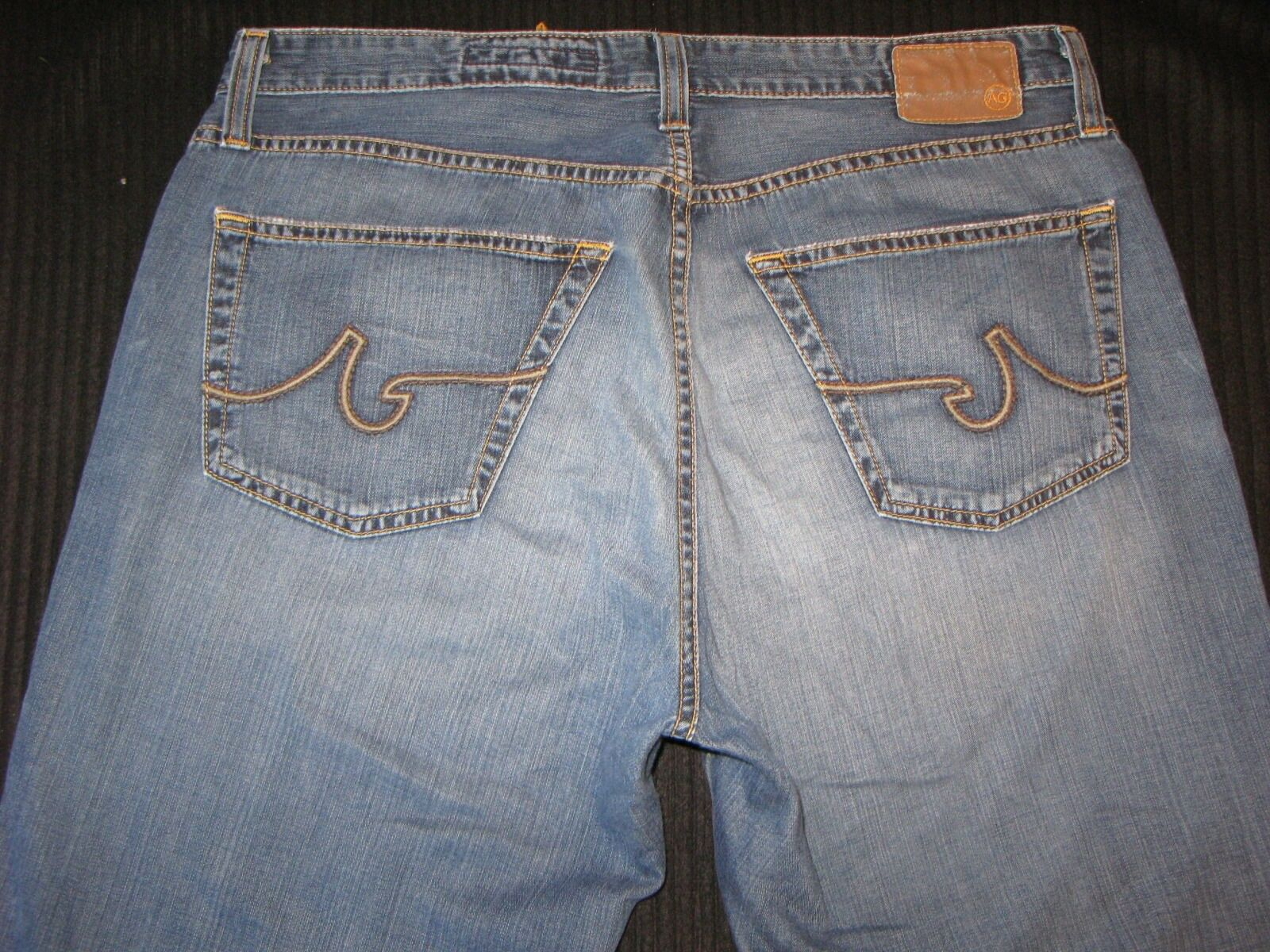AG ADRIANO goldSCHMIED Mens Symbol Jeans 32 x 32 Relaxed 100% Light Pima Cotton