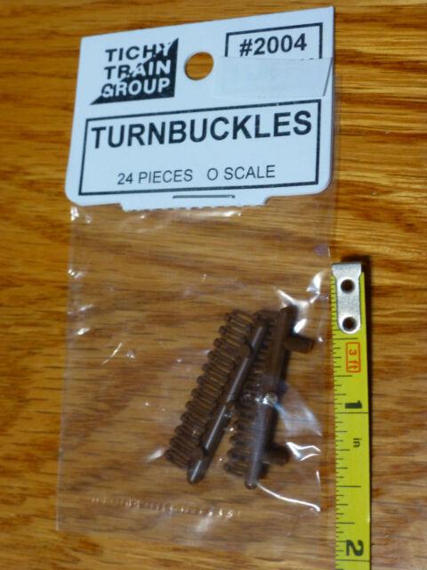 Tichy Train Group O Scale #2004 Turnbuckles
