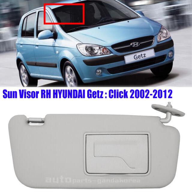852201C200QS Sun Visor Inside Passenger Right Gray HYUNDAI GETZ CLICK 2002- 2012 7fe754210eb