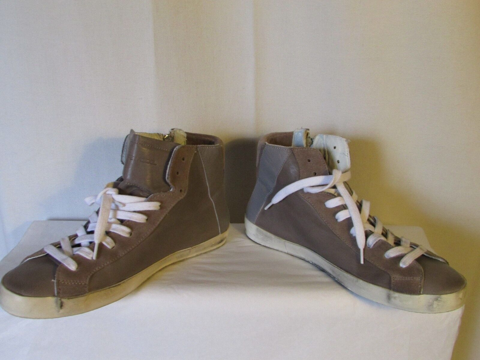 Schuhe/Turnschuhe und Philippe Modell Leder taupe und Schuhe/Turnschuhe Wildleder taupe 40 5a1c80