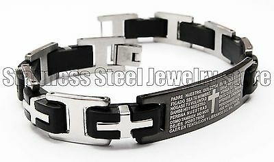 Bracelet Mens Stainless Steel Bracelet Stainless Steel Mens Bracelet Silver