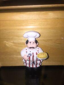 New Fat Chef Recipe Box With Cards Kitchen Decor Custom Made Free Shipping Ebay