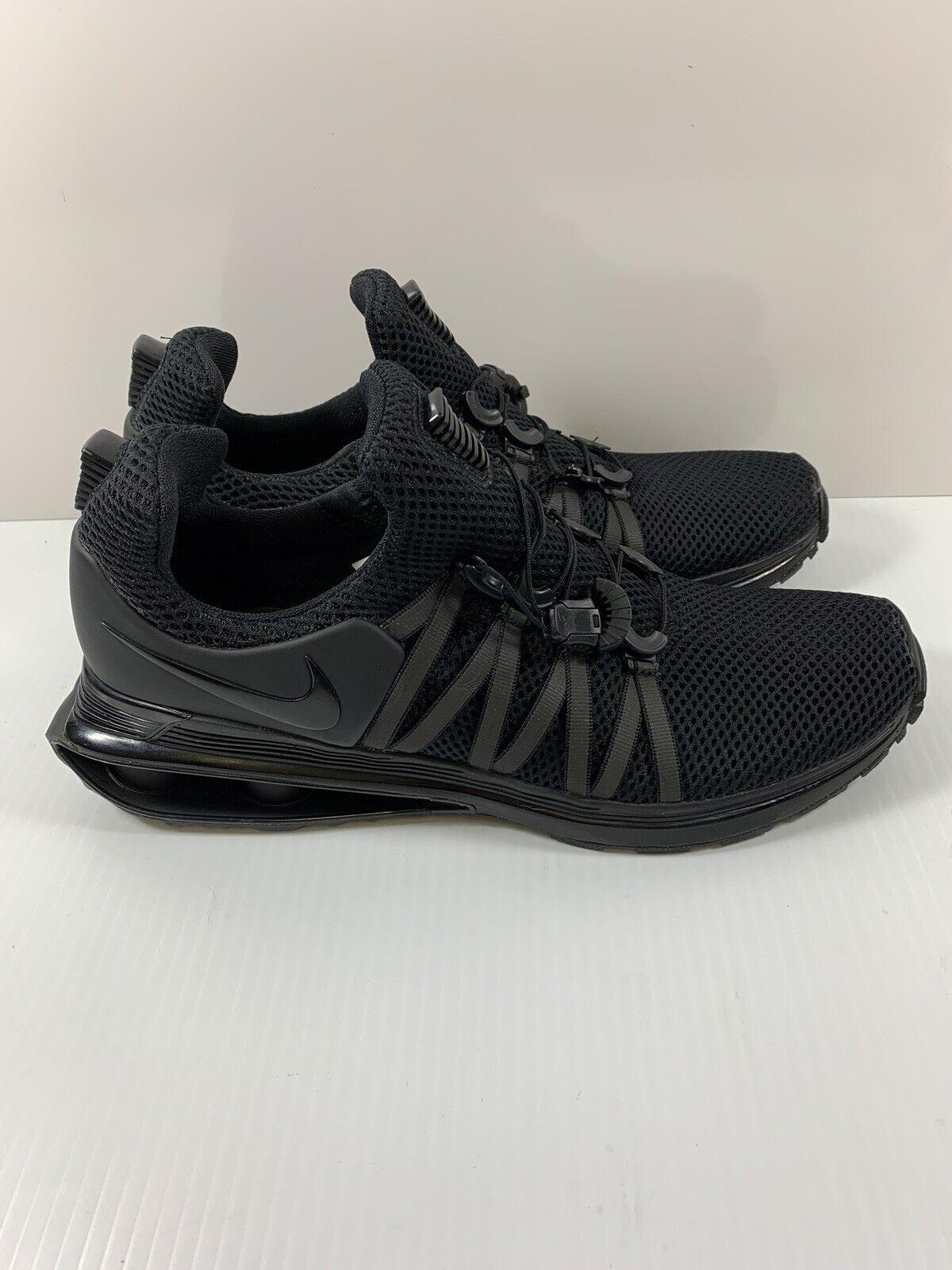 Nike Shox Gravity Men's shoes  Black AR1999 001 Size 8.5 Triple Black NEW
