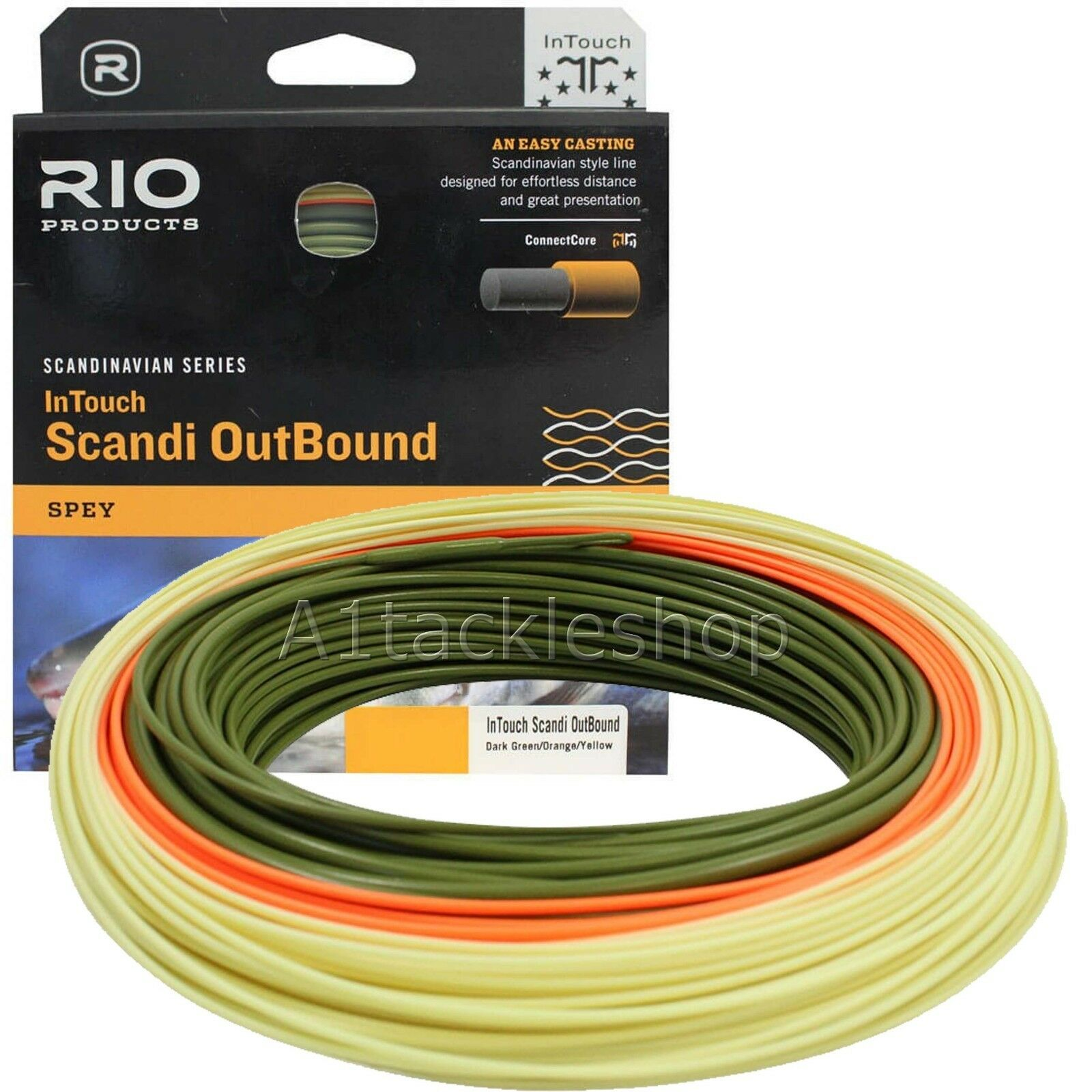 Rio In Touch Scandi Outbound  Spey Salmon Fly Line  take up to 70% off