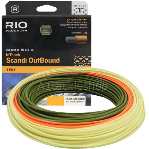 Rio In Touch Scandi Outbound Spey Salmon Fly Line