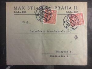 1925 Prag Tschechoslowakei Gewerblicher zu Budapest Ungarn